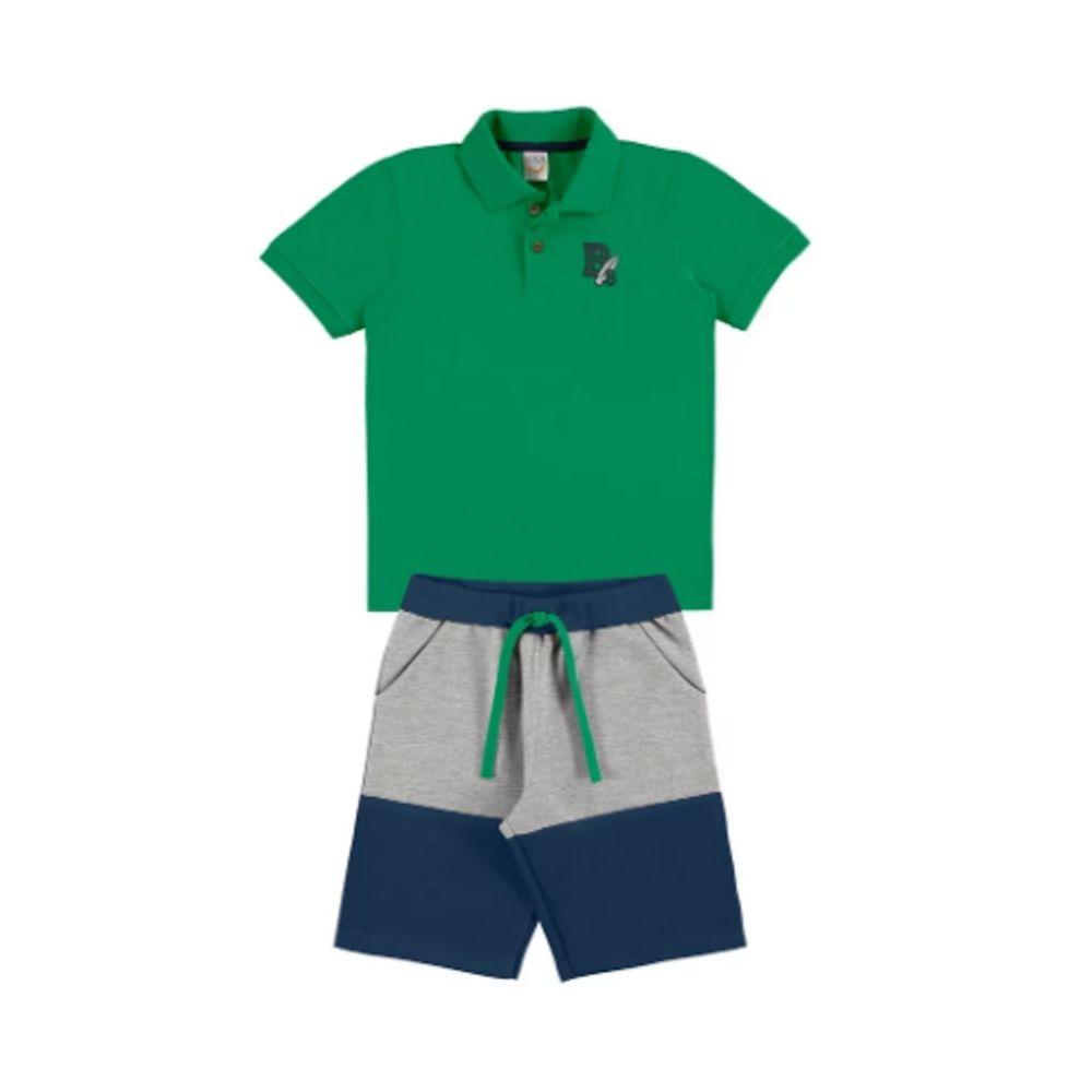 Conjunto Infantil Polo BG- Boca Grande