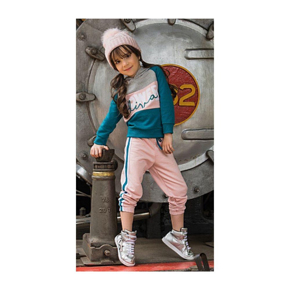 Conjunto Infantil Power Diva- Costão Mini