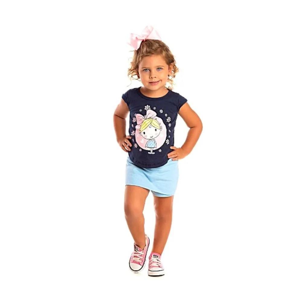 Conjunto Infantil Primavera- Ollelê Little