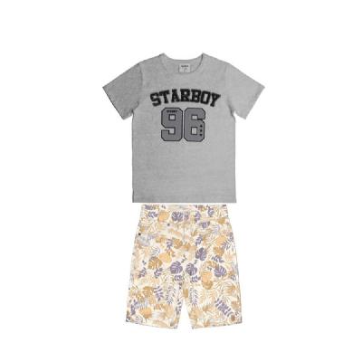 Conjunto Infantil Starboy- Malha/Sarja - Rovitex Kids
