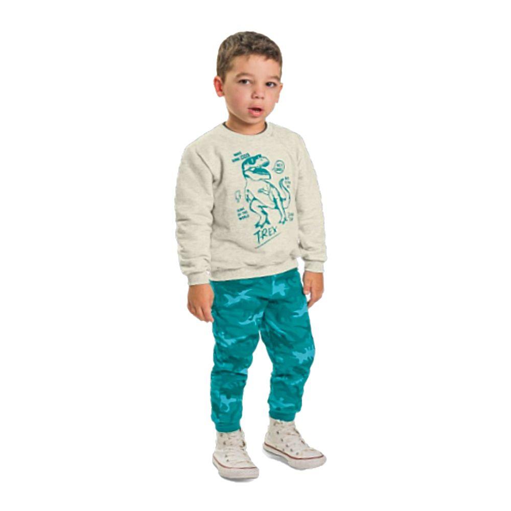 Conjunto Infantil T-Rex-Rolú