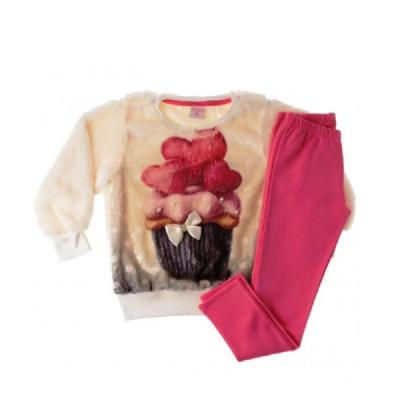 Conjunto Infantil Inverno Cupcake- By Gus