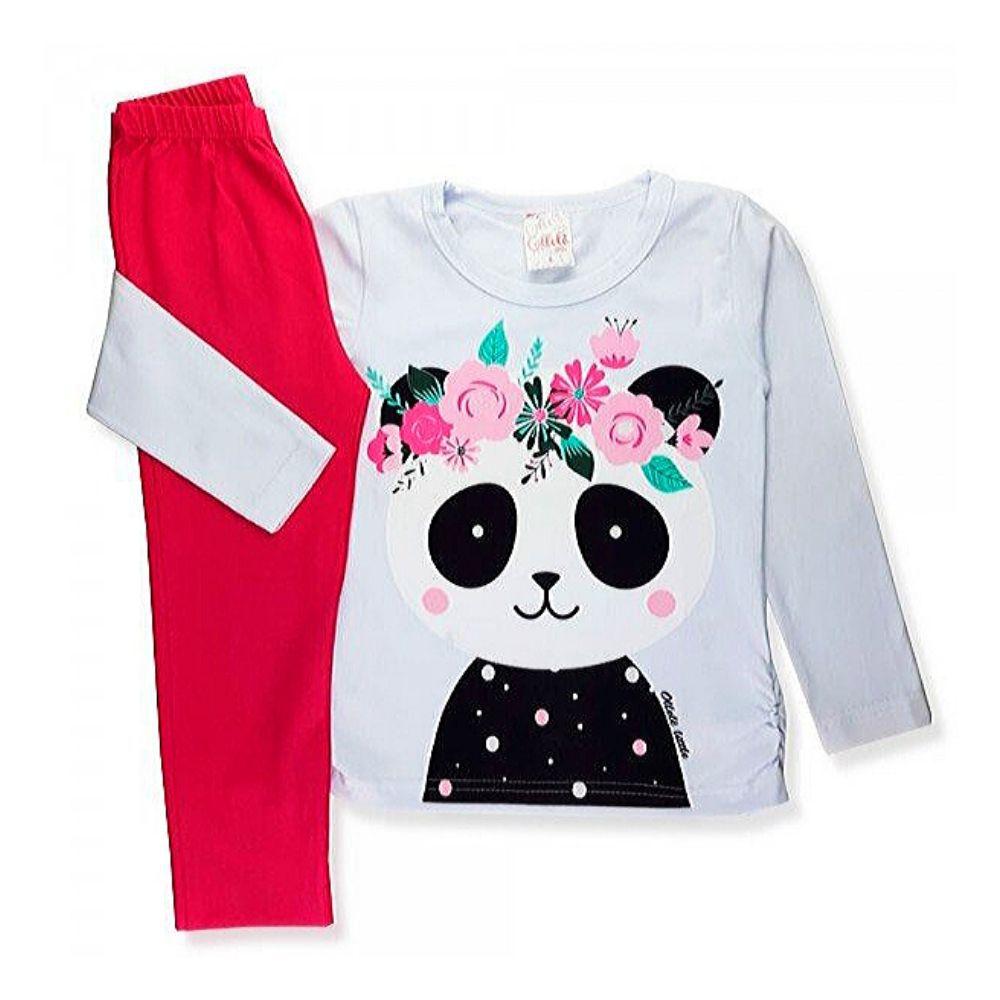 Conjunto Infantil Panda-Ollelê Little