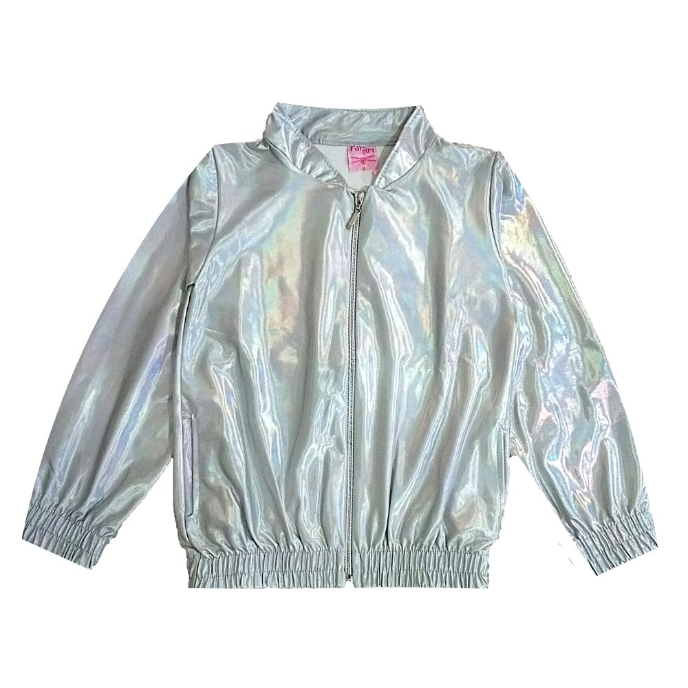 Jaqueta Infantil Cirrê Foil-For Girl