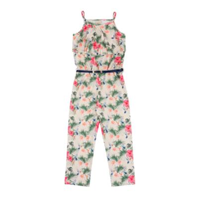 Macacão Infantil Floral - Time Kids