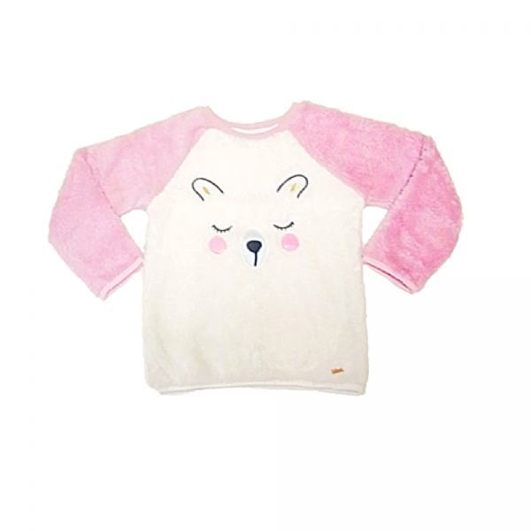 Suéter Infantil Plush Urso - Rovitex Kids
