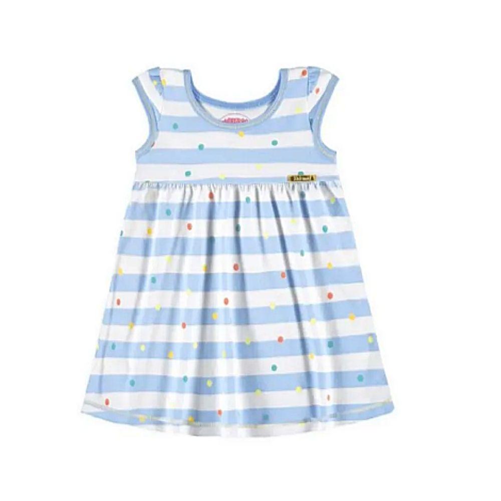Vestido Bebê Poá - Alakazoo