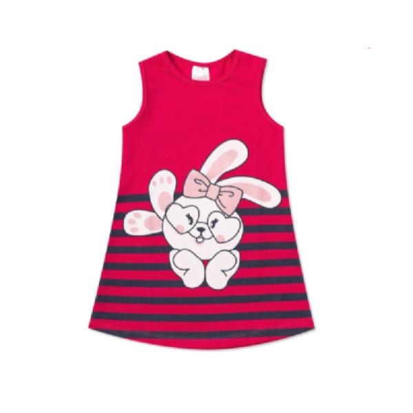 Vestido Infantil Bunny -Ollelê Litlle