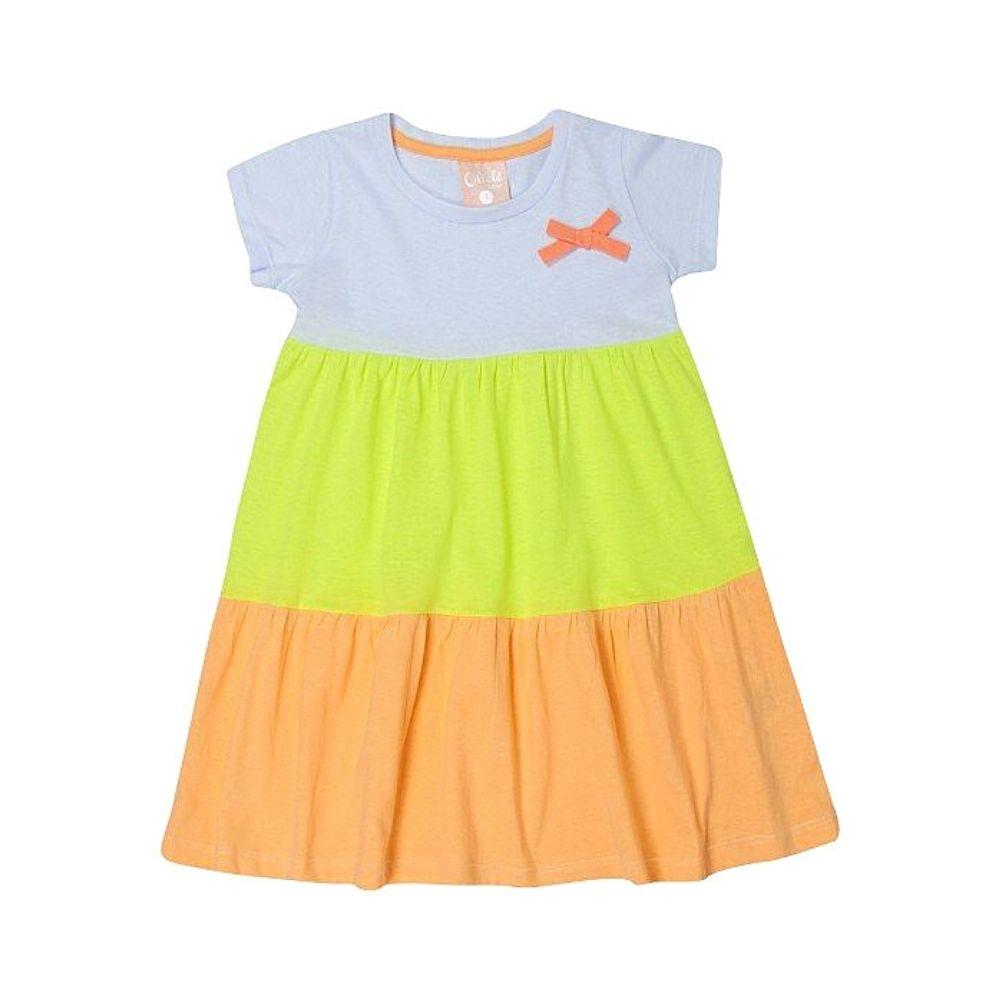 Vestido Infantil Collors - Ollelê