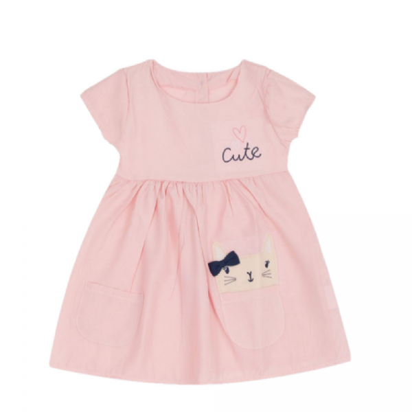 Vestido Infantil-Cute- By Gus