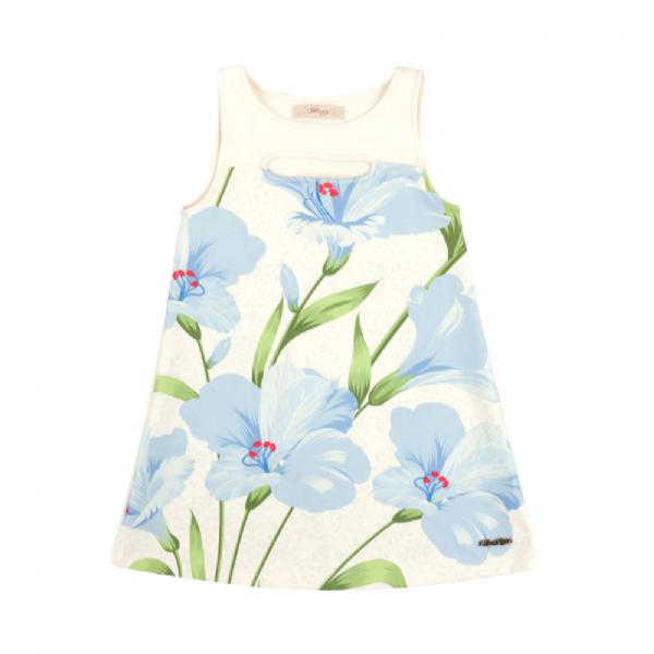 Vestido Infantil Floral-Time Kids