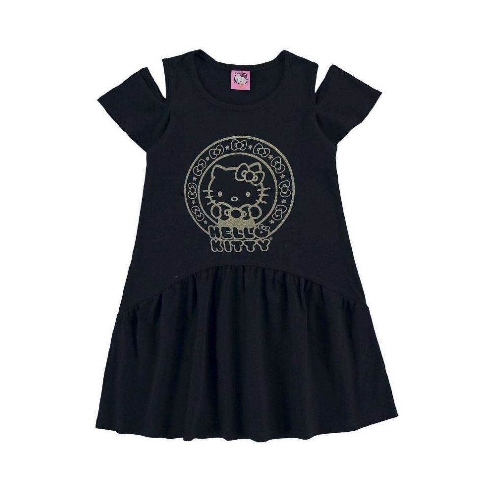 Vestido Infantil Hello Kitty - Marlan
