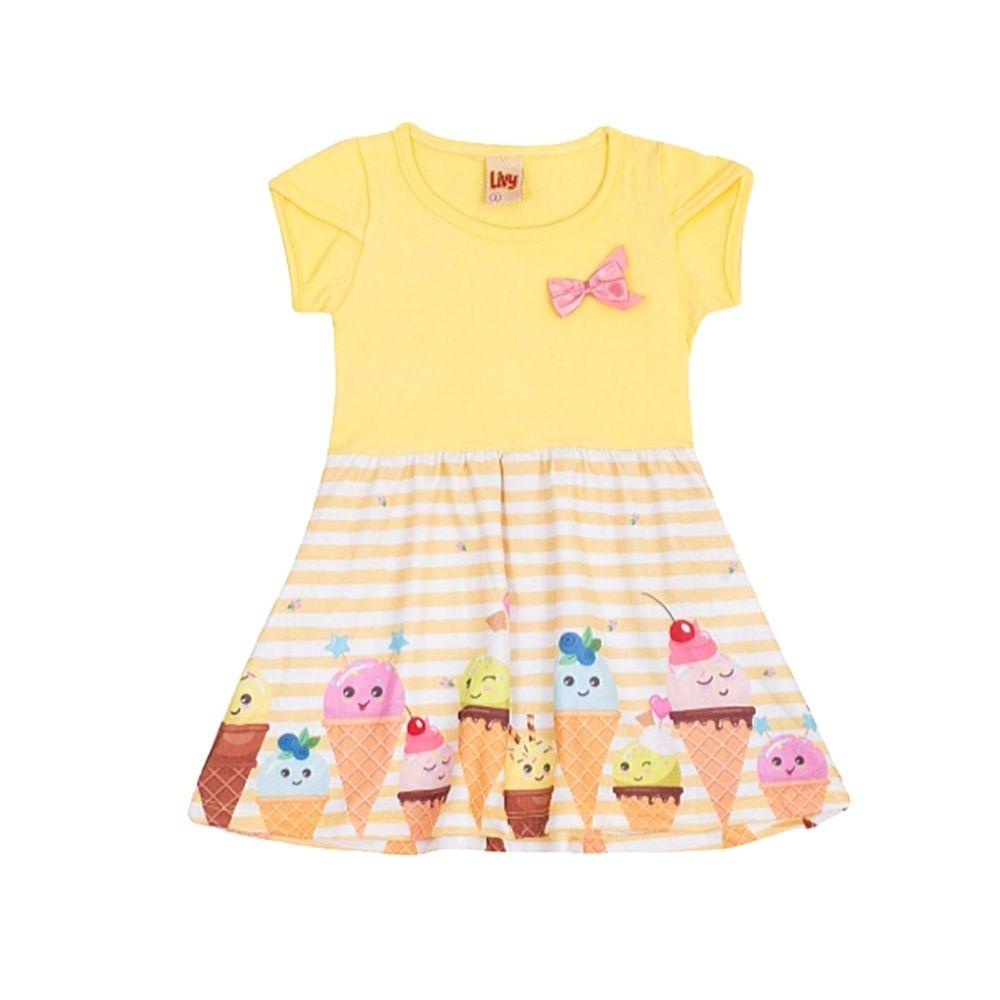 Vestido Infantil Ice cream - Livy