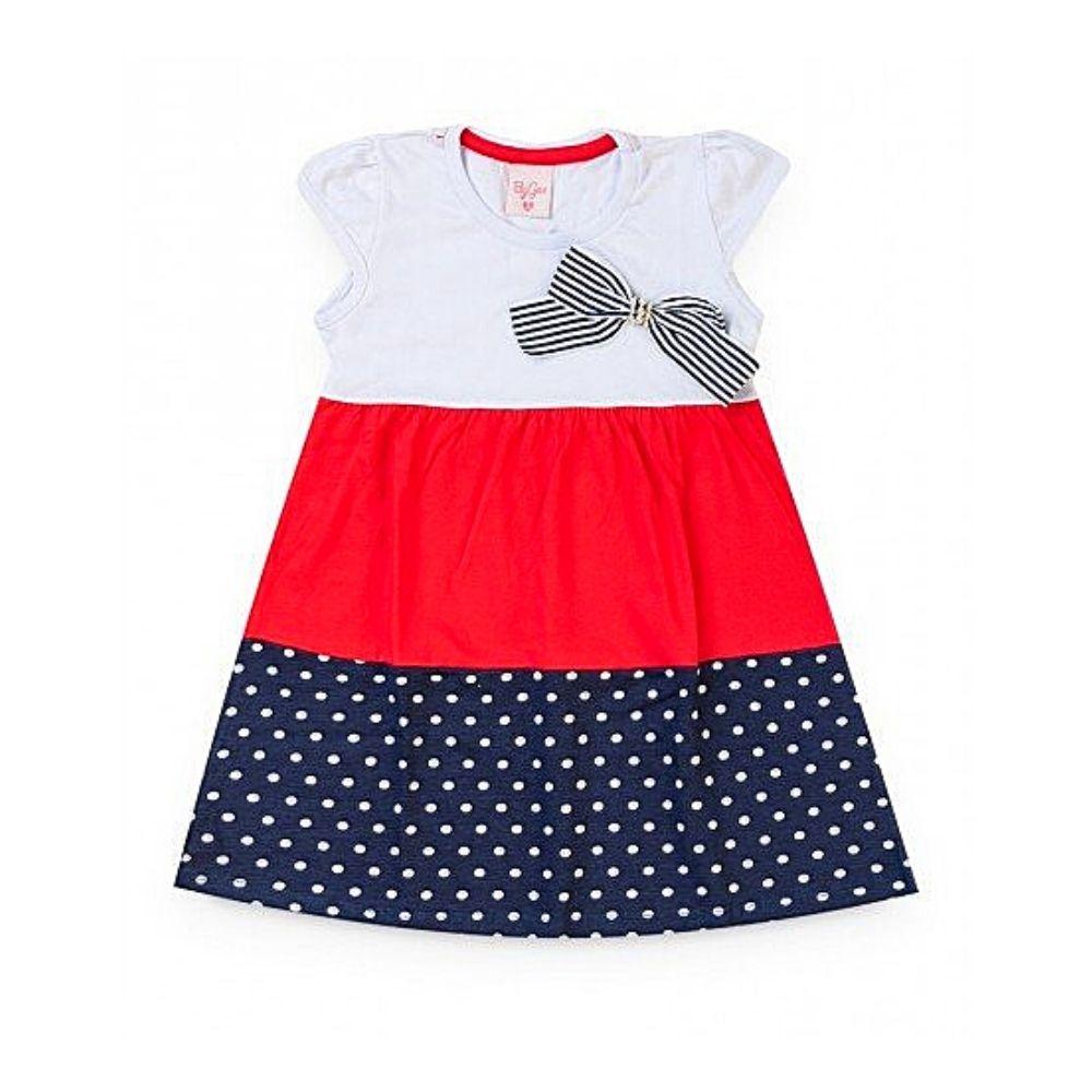 Vestido Infantil Laço - By Gus