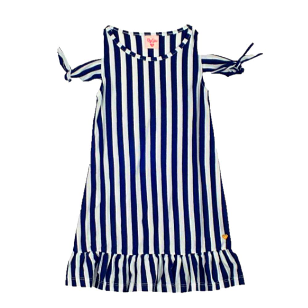 Vestido Infantil Listras - By Gus