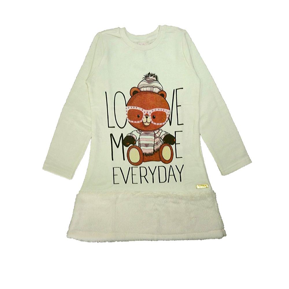 Vestido Infantil Love-By Gus