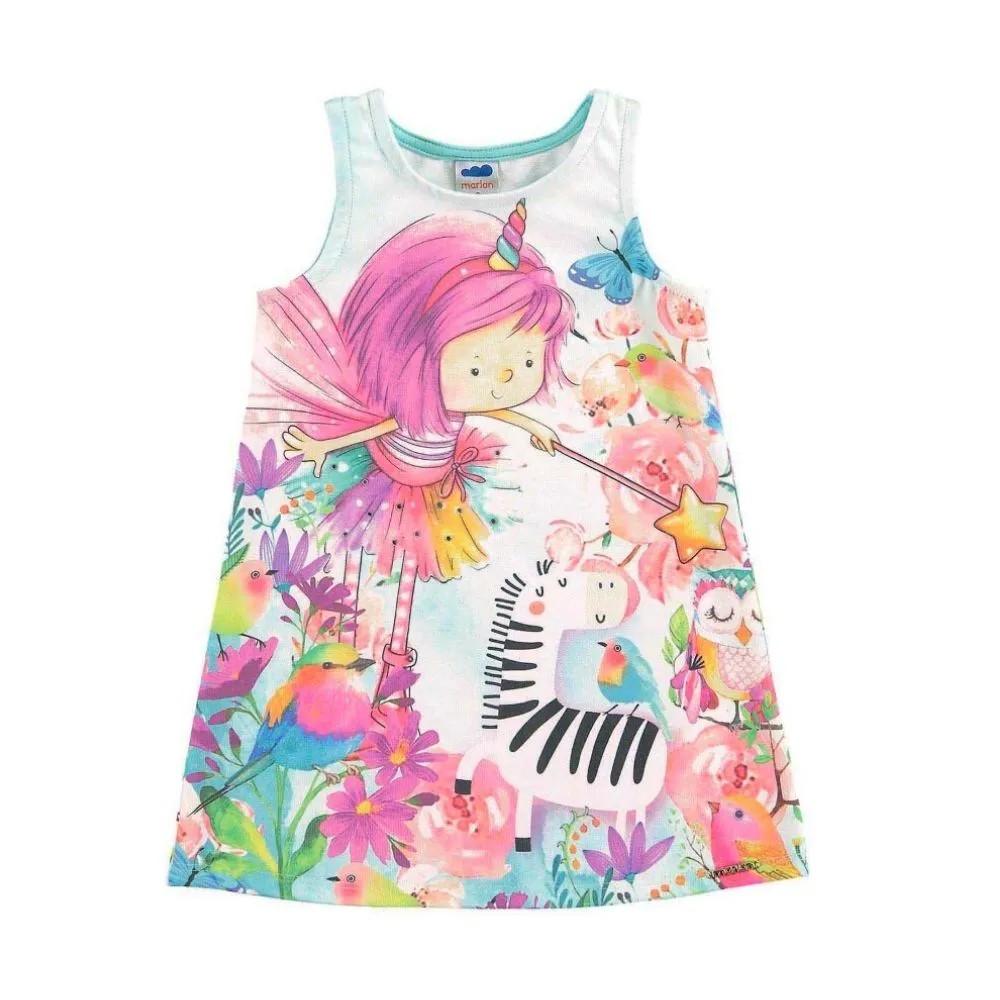 Vestido Infantil Lúdico Fada - Marlan