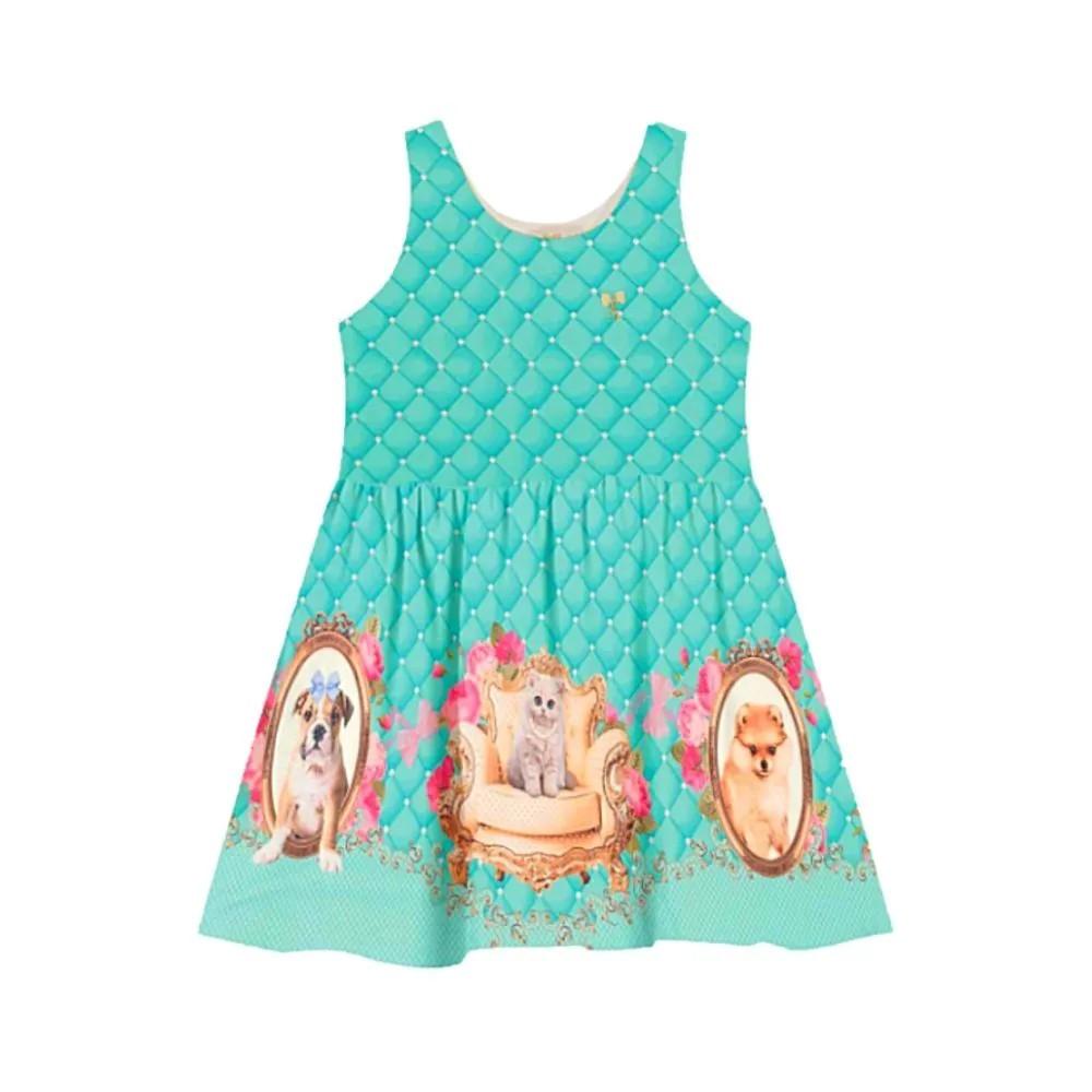 Vestido Infantil Lulu - Trick Nick