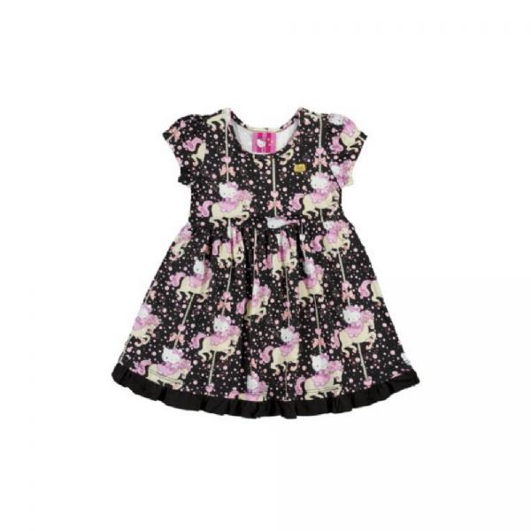 Vestido Infantil Menina - Hello Kitty