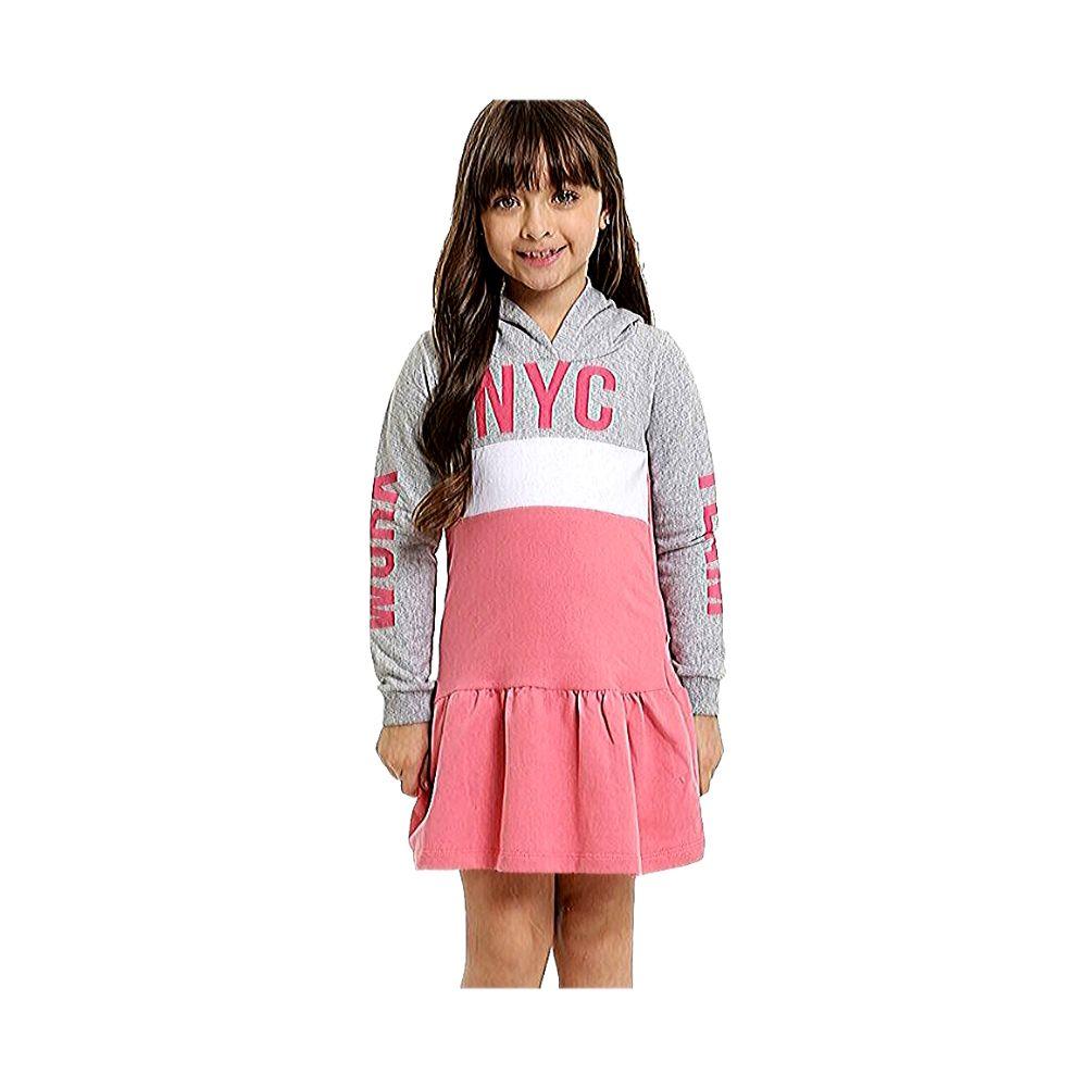 Vestido Infantil Moletom NYC- By Gus