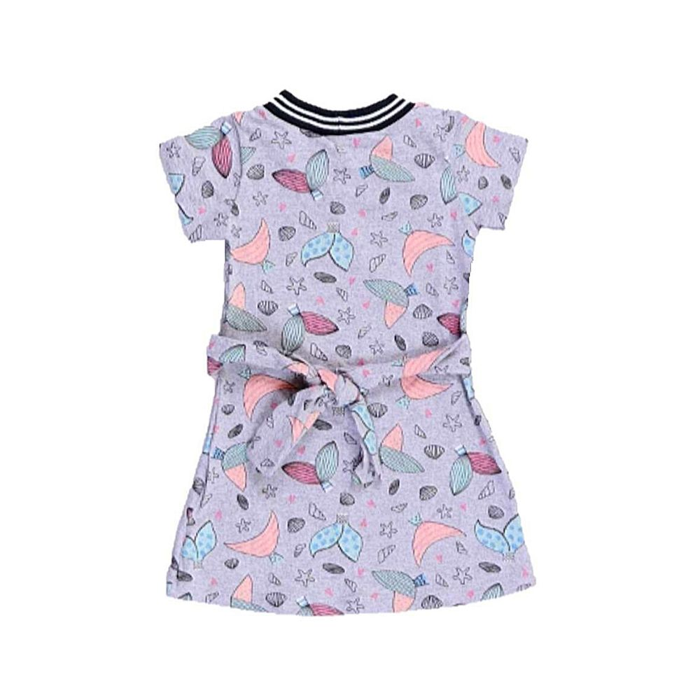 Vestido Infantil Sereia- By Gus