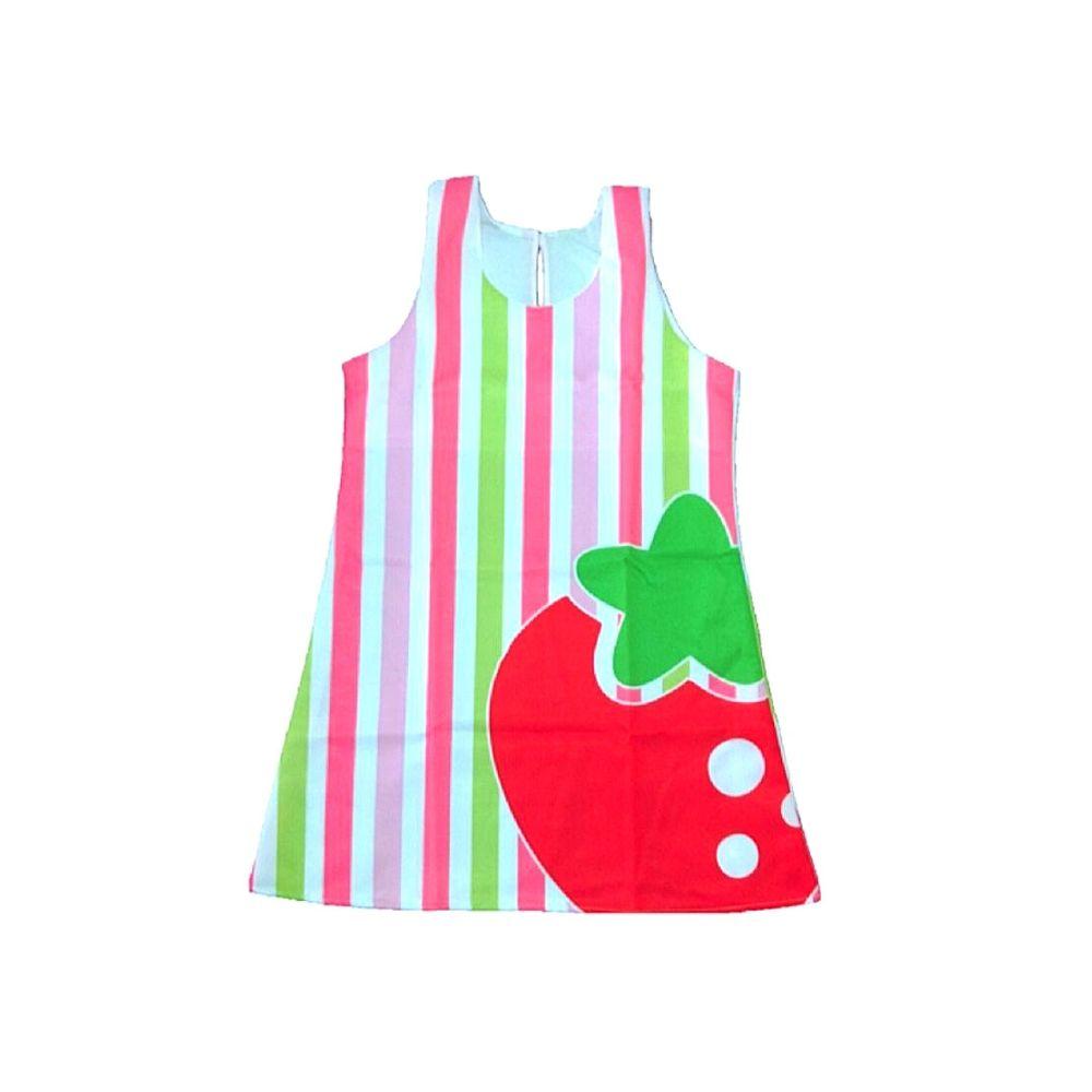 Vestido Infantil Trapézio- Estampas Sortidas