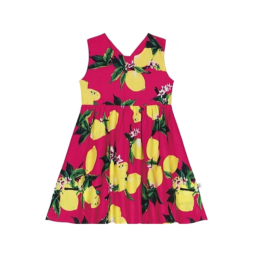 Vestido Infantil Tropical - Rovitex Kids