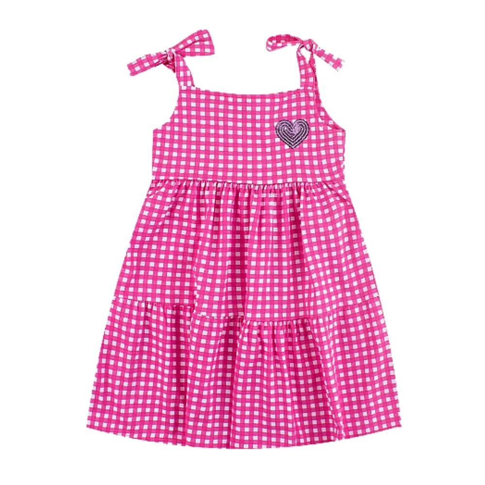 Vestido Infantil Xadrez - By Gus