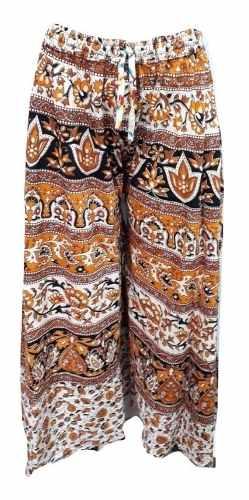 Calça Indiana Feminina Pantalona Estampada