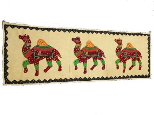 Páno 3 Camelos Indianos