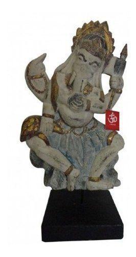 Estátua De Ganesha Madeira