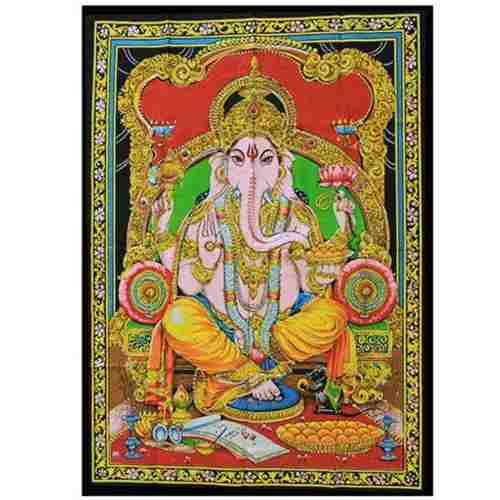 Panô Decorativo Indianos Ganesha
