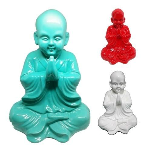 Estatua De Buda Rezando 30cm