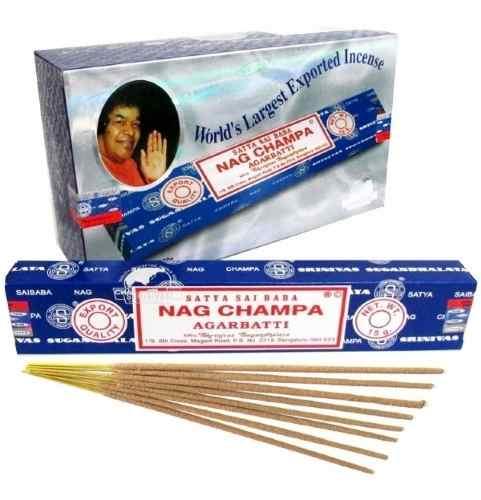 Incenso Nag Champa, Sai Baba Cx 12 Atacadão