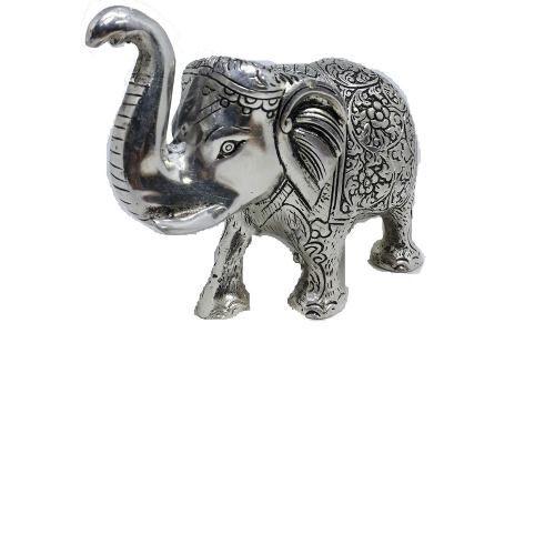 Elefante Decorativo Metal Opaco