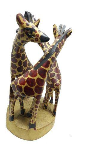 Trio De Girafa Decorativas 20cm