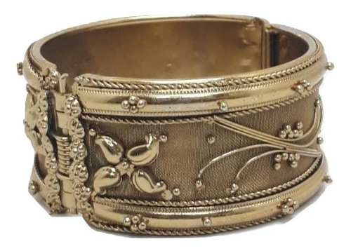 Bracelete Indiano Feminino Dourado