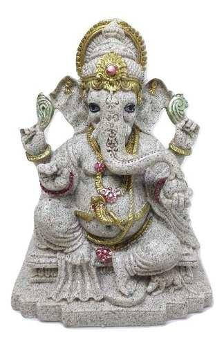 Lord Ganesha Destruidor De Obstáculos 14 Cm