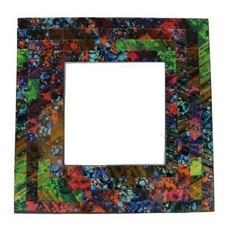 Espelho Mosaico Decorativo 20x20 Cm