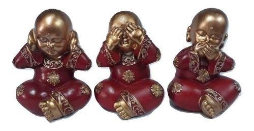 Trio De Budas Da Sabedoria