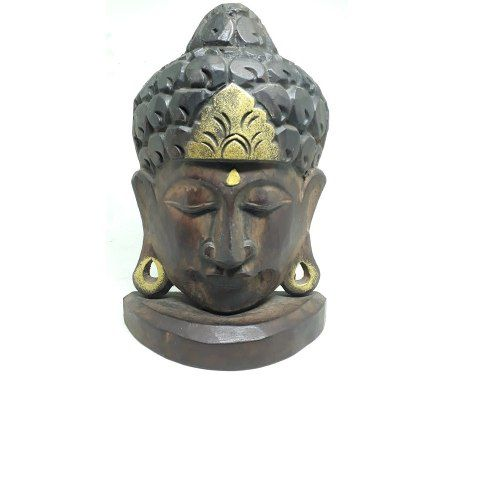 Mascara De Buda Decorativa 23 Cm