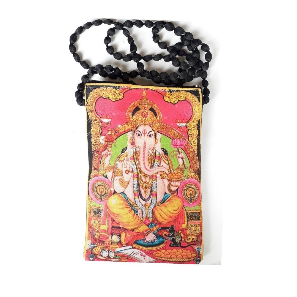 Bolsinha Indiana com Ganesha