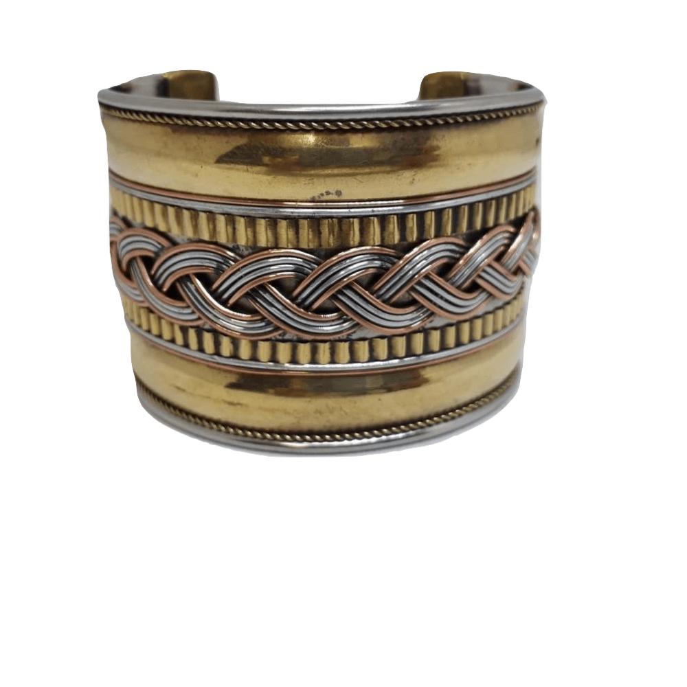 Bracelete Indiano Metal Rendado