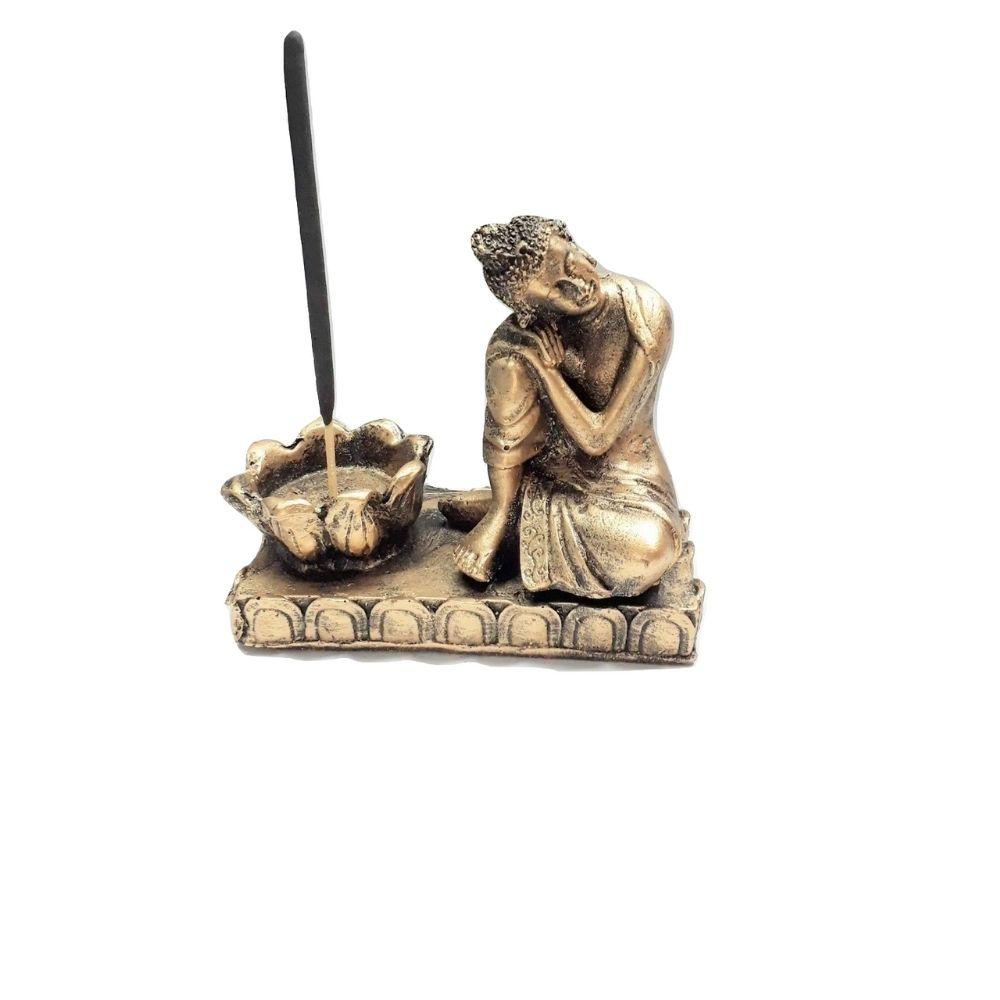 Buda Posição Reflexão/ Incensário/ Castiçal
