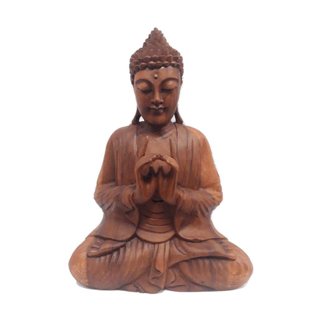 Buda Sentado Uttarabodhi 42cm