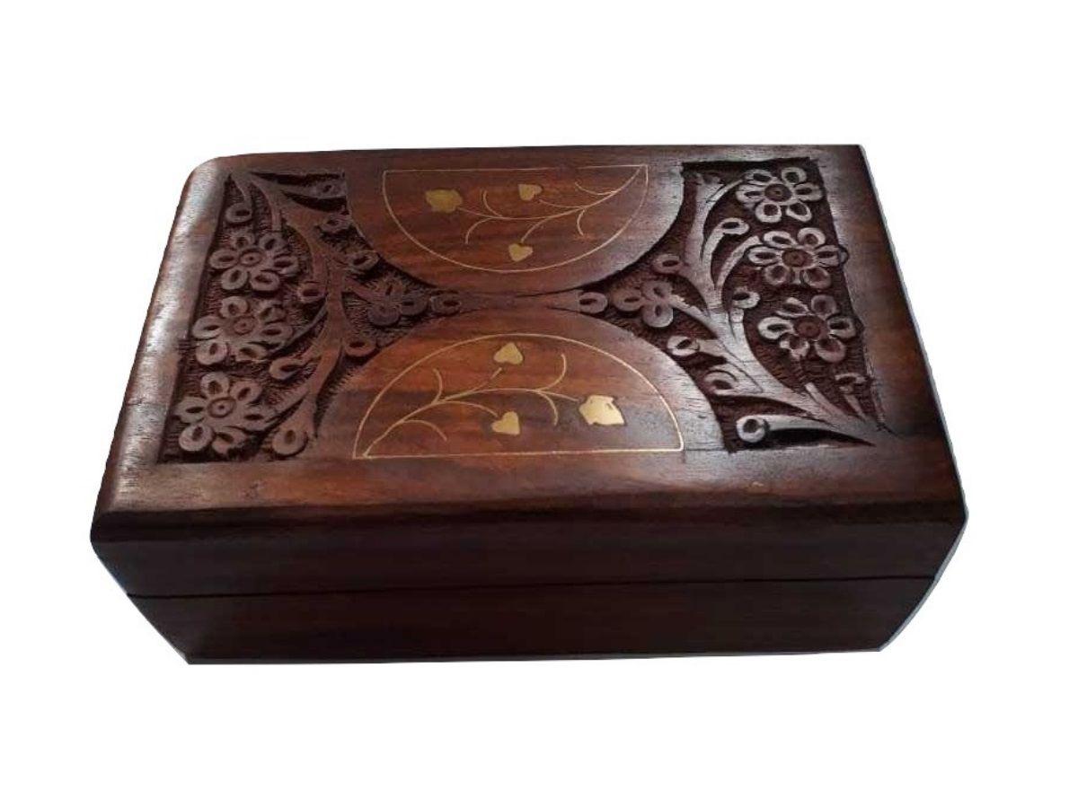 Caixa Retangular De Madeira 15 Cm
