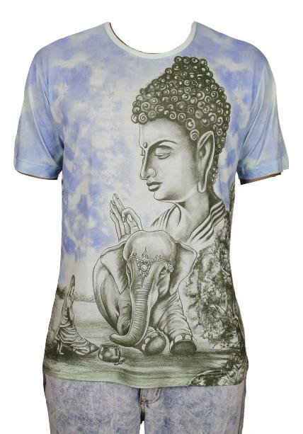 Camisa Indiana Masculina Buda