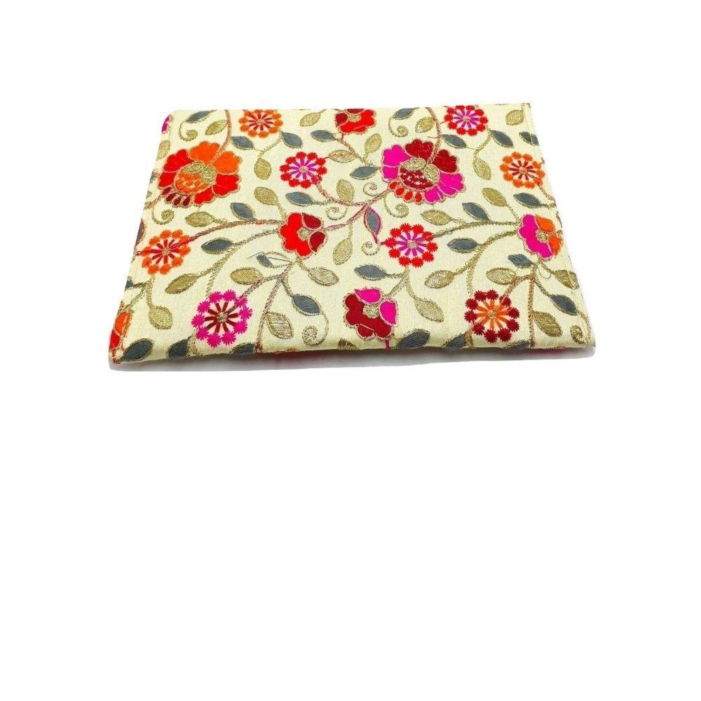 Clutch Feminina - Bolsa de mão Indiana 22 x 16 Cm