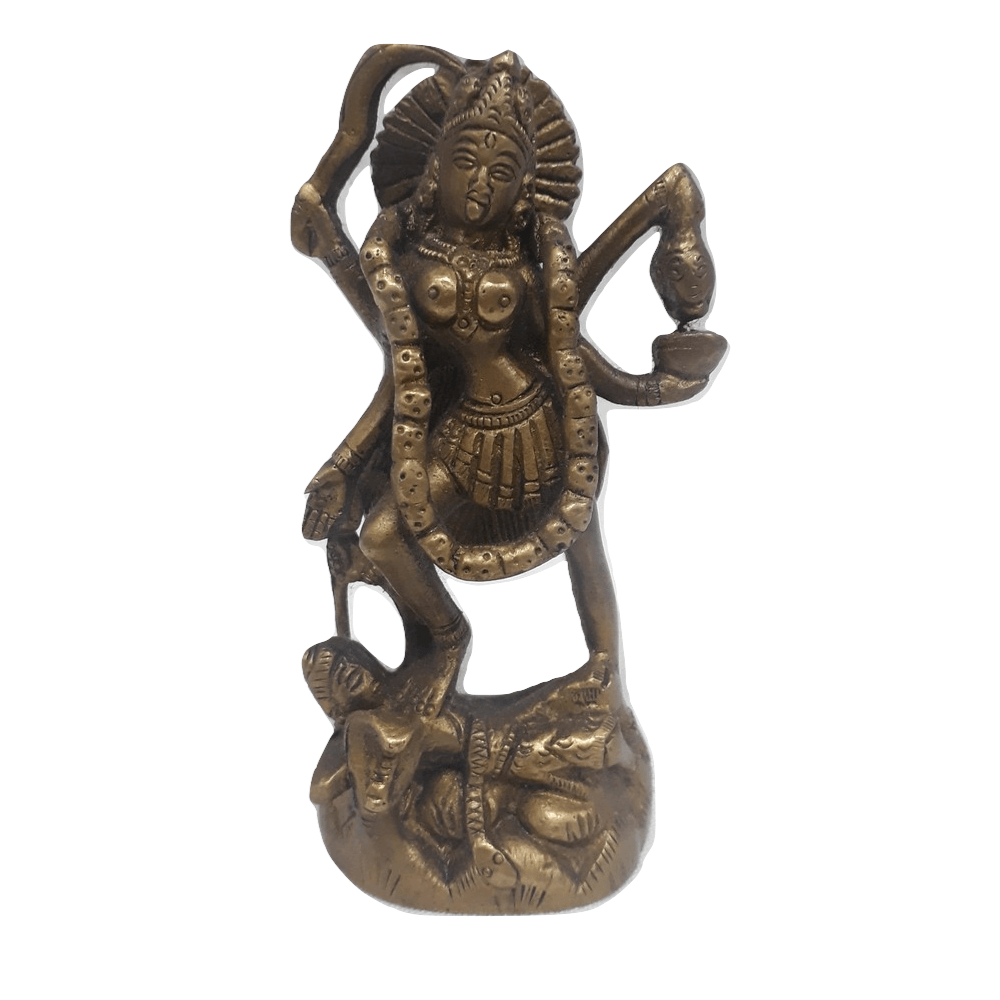 Deusa Kali de Bronze 11 cm