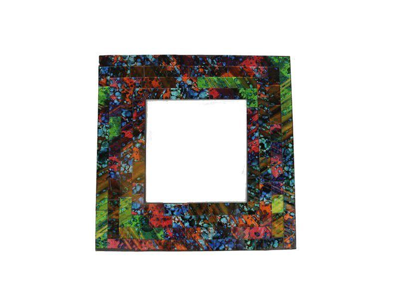 Espelho Mosaico Decorativo Redondo 20 Cm
